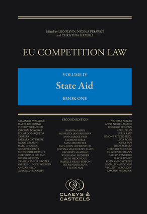 EU Competition Law Volume IV, State Aid