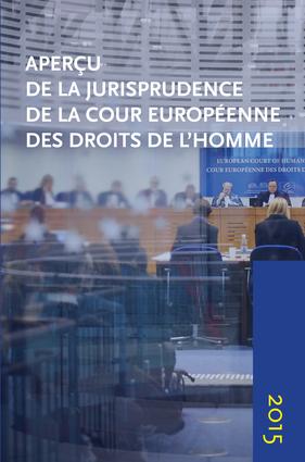 Apercu de la Jurisprudence de la Cour Europeenne des Droits de l'homme