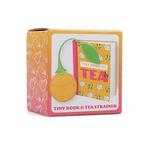 Mini Tea Book & Tea Strainer Gift Set