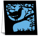 Nature Die-Cuts: Bird