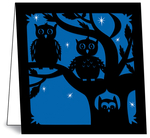 Nature Die-Cuts: Owls