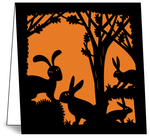 Nature Die-Cuts: Rabbits