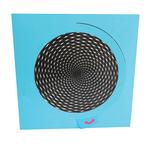 Eye Magic Spiral Card: Blue