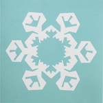 Snowflakes Card 4
