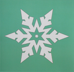 Snowflakes Card 5