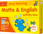 Maths and English Activity Box Ages 3-5