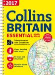 2017 Collins Essential Road Atlas Britain