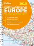 2019 Collins Essential Road Atlas Europe
