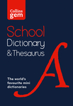 Collins Gem School Dictionary & Thesaurus