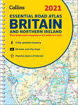 2021 Collins Essential Road Atlas Britain and Northern Ireland