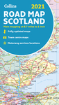 2021 Collins Road Map Scotland