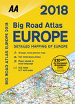 2018 Big Road Atlas Europe