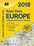 2018 Road Atlas Europe