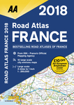 2018 Road Atlas France