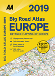 2019 Big Road Atlas Europe