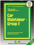 Car Maintainer, Group E
