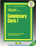 Commissary Clerk I