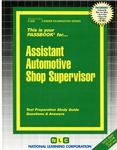 Assistant Automotive Shop Supervisor