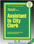 Assistant to City Clerk