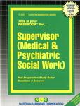 Supervisor (Medical & Psychiatric Social Work)