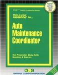Auto Maintenance Coordinator