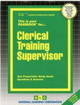 Clerical Training Supervisor