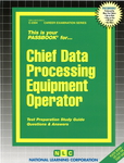 Chief Data Processing Equipment Operator