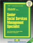 Senior Social Services Management Specialist