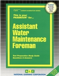 Assistant Water Maintenance Foreman