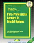 Para-Professional Careers in Mental Hygiene
