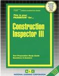Construction Inspector III