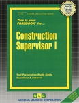 Construction Supervisor I
