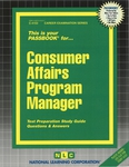 Consumer Affairs Program Manager