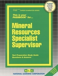 Mineral Resources Specialist III, IV (Supervisor)