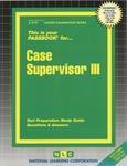 Case Supervisor III