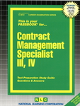 Contract Management Specialist III, IV