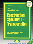 Construction Specialist I - Transportation