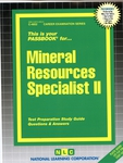 Mineral Resources Specialist II