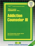 Addiction Counselor III