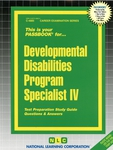 Developmental Disabilities Program Specialist IV