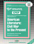 AMERICAN LITERATURE: CIVIL WAR TO THE PRESENT