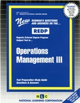 OPERATIONS MANAGEMENT III