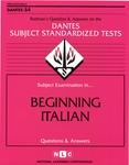 BEGINNING ITALIAN