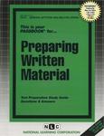 PREPARING WRITTEN MATERIAL