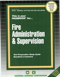 FIRE ADMINISTRATION AND SUPERVISION