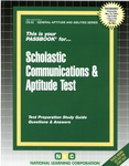 SCHOLASTIC COMMUNICATIONS & APTITUDE TEST