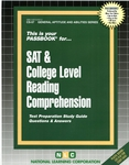 SAT & COLLEGE LEVEL READING COMPREHENSION