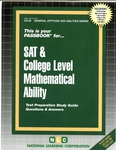 SAT & COLLEGE LEVEL MATHEMATICAL ABILITY