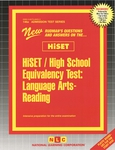 HiSET / High School Equivalency Test, Language Arts-Reading