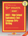 HiSET / High School Equivalency Test, Language Arts-Writing